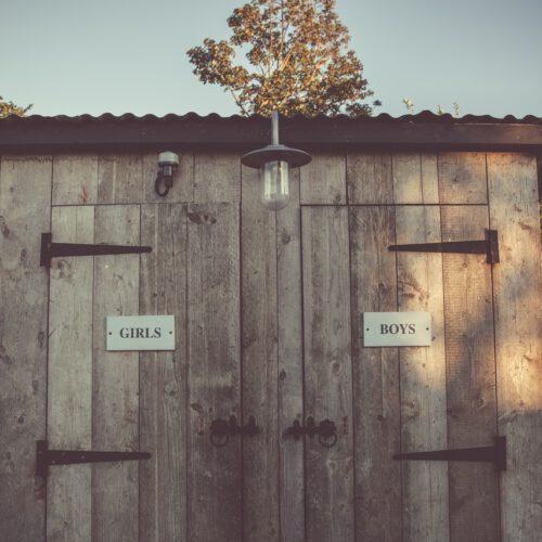 Verschillende soorten sanitaire voorzieningen