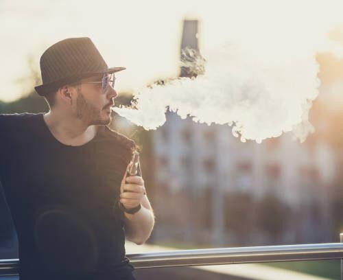 Het gebruik van e-sigaretten van Smokesmarter