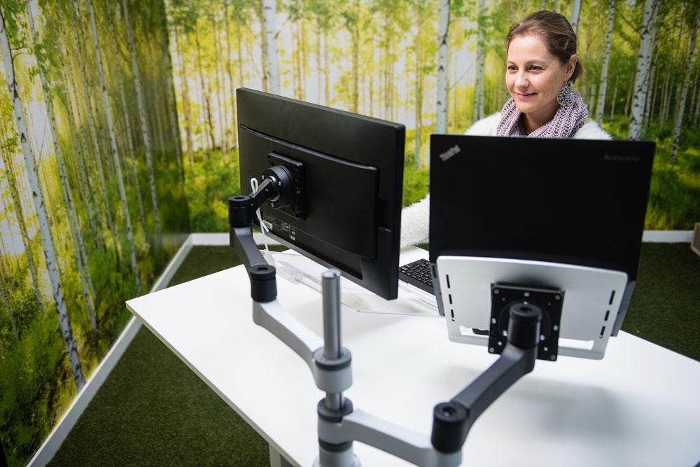 Mogelijkheden monitorarm