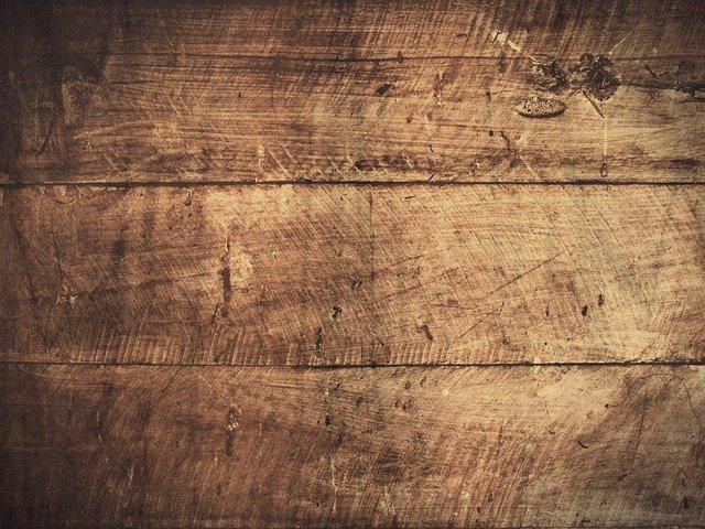De houten vloer wereld